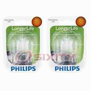 2 pc Philips Front Turn Signal Light Bulbs for Scion xD 2008-2014 Electrical be