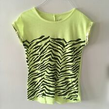 Justice Girls T Shirt Sleeveless Size 8