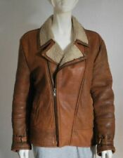 Unbranded Leather Outer Shell Brown Coats, Jackets & Waistcoats for Women