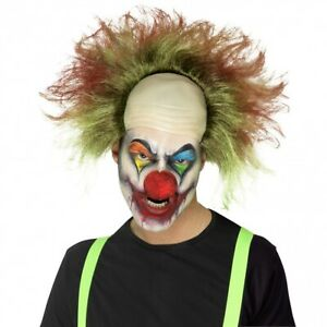 Sinister Clown Wig Costume Accessory Adult Halloween