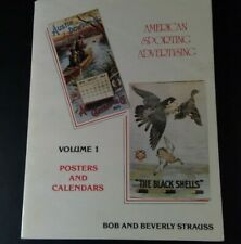American Sporting Advertising, Volume 1 by Bob & Beverly Strauss, Inc.1987 price