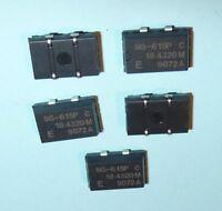 5x Seiko Quarz 184320 KHz 18.4320 MHz SMD SPXO SG 615 P C Crystal Oscillator