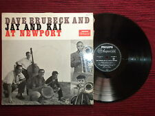 "LP DAVE BRUBECK AND JAY & KAI ""At Newport"" PHILIPS B 07207 L µ"
