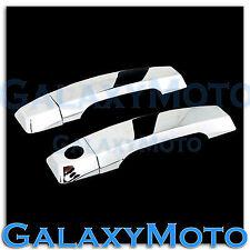 Chrome kit 2 Door Handle W/O Passenger KH Cover for 04-13 Nissan Armada+Titan