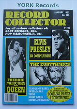 RECORD COLLECTOR MAGAZINE - Issue 149 January 1992 - Queen / Elvis Presley