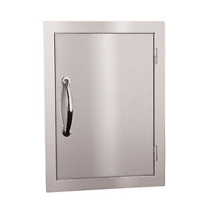 STG Excalibur Premier 17-in x 22-in.Stainless Steel Vertical Door Model# STGDV-1