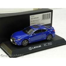 LEXUS RC350 F SPORT HEAT BLUE KYOSHO MODEL 1/43 #03657BL