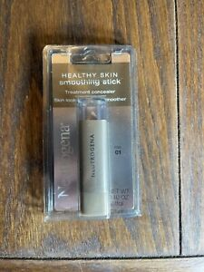 New NEUTROGENA Healthy Skin Smoothing Stick Concealer Makeup FAIR 01