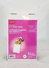 Premium Staples 5 x 7 Photo Mailers Heavy Duty Mailing Envelopes Rigid | Sealed