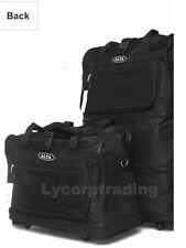 "40"" Black Large Rolling Wheeled Duffel Bag Spinner Suitcase Duffle Bag Luggage"