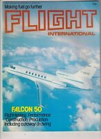 Flight International Mag Falcon 50 Flight Testing January 29 1977 022120nonr