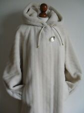 Real Alpaca wool fur coat  designers collection Coryal size M -  XL ; 48 - 50