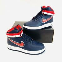 Nike Air Force 1 High '07 LV8 Sport NBA Wizards Navy Blue AV3938-400 Men size 7