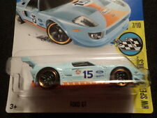HOT WHEELS 2016 HW SPEED GRAPHICS #7/10 FORD GT HOTWHEELS LIGHT BLUE VHTF