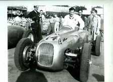 Stirling Moss HWM Circuito del Garda 1950 Signed Photograph