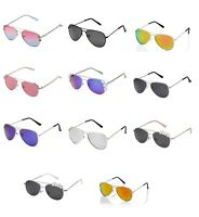 Chilrens Kids Classic Pilot Style Sunglasses Girls Boys Glasses Shades UV400 UK