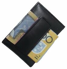 Men's Genuine Leather Bifold Photo ID Money Clip High Quality Wallet by JL
