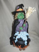 Unique Shaking Halloween Noise Activated Soft Plastic Cackling Witch! HeeHeeHee!