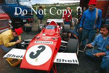 Ferrari F1 garage zone french grand prix 1972 photo 2