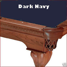 7' Dark Navy Blue ProLine Classic Billiard Pool Table Cloth Felt - SHIPS FAST!