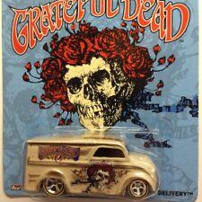 NEW Hot Wheels Grateful Dead Dairy Delivery Van Tan Genuine Sealed Real Riders