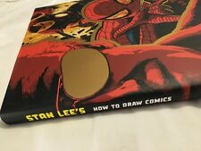 RARE SIGNED Autographed STAN LEE ~ HOW TO DRAW COMICS LIMITED HC w/ ORIGINAL ART