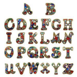 Diamond Painting Key Chain , Alphabet