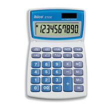 Ibico 210X Tilt Display Desktop Calculator - Solar and Battery Powered - NEW