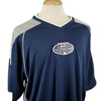 Majestic New York Yankees MLB All-Star Game 2008 Mens XL Knit Shirt Jersey S/S