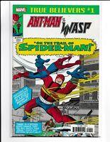 TRUE BELIEVERS Tales to Astonish #57 Ant-man vs Spider-Man 2018 Marvel Comics