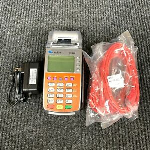 VeriFone VX 520 Payment Card Terminal Machine w/ Charger - AS IS - NO BATTERY