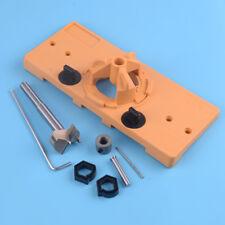 1Pcs 35mm Concealed Cabinet Hinge Jig Boring Hole Drill Guide Cutter Bit Set US