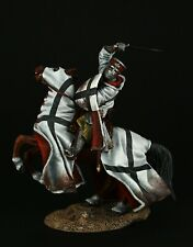 ELITE TIN SOLDIER: Teutonic Knight in Holy Land 90 mm,metal sculpture.