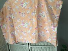 Pottery Barn Teens Peach Floral Full/Queen Duvet Cover