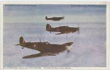 Hawker Sea Hurricane & Supermarine Seafires Postcard, HA645