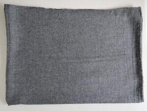 100% Charcoal Cashmere Shawl Pashmina Scarf Wrap Stole Women Wool Soft Warm 19