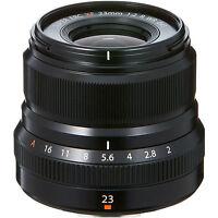 Fuji Fujifilm 23mm F2.0 XF X Mount Lens in Black (UK Stock) BNIB