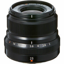 Fuji Fujifilm 23mm F2.0 XF X Mount Lens in Black (UK Stock) BNIB