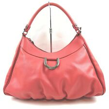 Gucci Hand Bag  Reds Leather 1408822