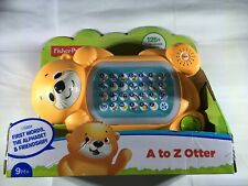Fisher-Price Linkimals A to Z Otter, with Interactive Keyboard New