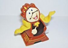 1991 Burger King wind-up Toy Beauty and the Beast Cogsworth clock figure