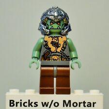 New Genuine LEGO Troll Warrior 2 / Orc 7038 7048 7078 7097