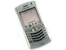 Solid Plastic Phone Protector Case Clear For BlackBerry Pearl 8110 8120 8130
