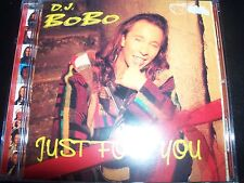 DJ Bobo Just For You CD - Like New