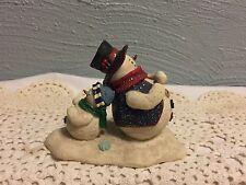 Mother Browns Snow Tires Snowmen Figurine Coyne's & Company MB1506