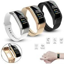 2 in 1 Sport Smart Watch Heart Rate Monitor Bluetooth Headset for iPhone Android