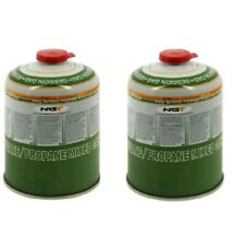 2 x NGT 450g Canisters of Butane Propane Fishing Stove Gas