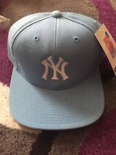 New York Yankees 🔥SPORTS SPECIALTIES Hat 🧢 Fitted Cap Blue Baseball Size 7 VTG