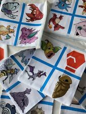 2 Metre Length Pokemon Characters Bunting Fully Lined 100% Cotton