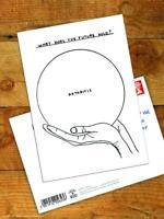 David Shrigley Brainbox Candy Postcard Funny Comedy Humour Novelty Cheeky Joke